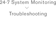 24-7 System Monitoring Troubleshooting