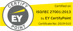 EY CertifyPoint ISO/IEC 27001:2013
