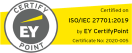 EY CertifyPoint ISO/IEC 27701:2019