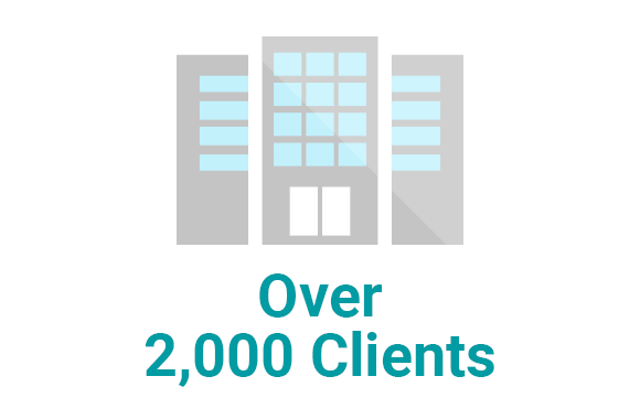 Over 1,200 Clients
