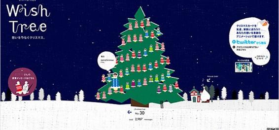 Link Link Christmas Wish Tree
