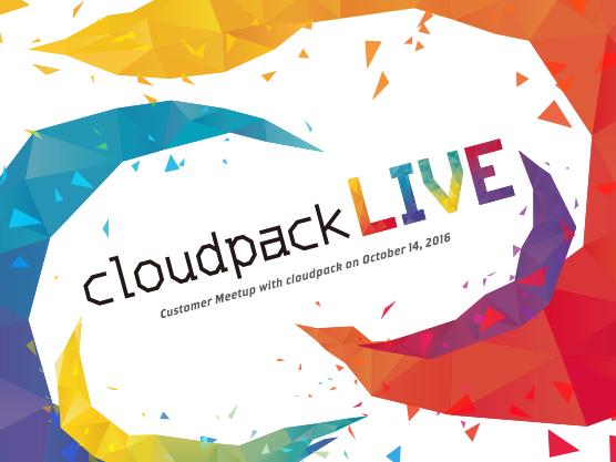 cloudpack LIVE 2016