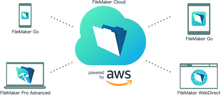 FileMaker Cloud図