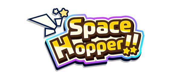 簡単操作のカジュアルアクションゲーム『Space Hopper!!』